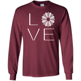 LOVE Quilting LS Ultra Cotton T-shirt - Crafter4Life - 9