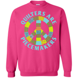 Quilters are Piecemakers Crewneck Sweatshirts - Crafter4Life - 12