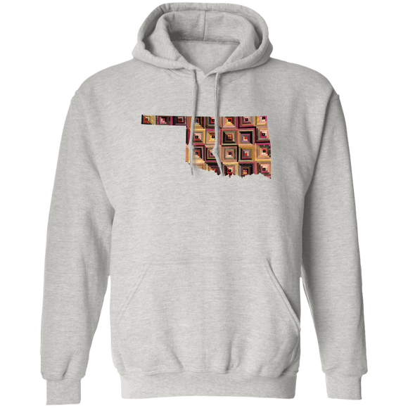 Oklahoma Quilter Pullover Hoodie