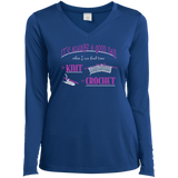 Good Day to Knit or Crochet Long Sleeve T-Shirts - Crafter4Life - 12