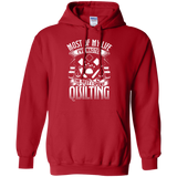 Most of My Life (Quilting) Pullover Hoodies - Crafter4Life - 11
