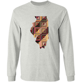 Illinois Quilter LS Ultra Cotton T-Shirt