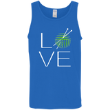 LOVE Knitting Cotton Tank Top