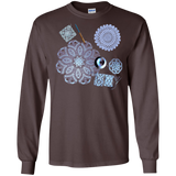 Crochet Collage LS Ultra Cotton T-Shirt