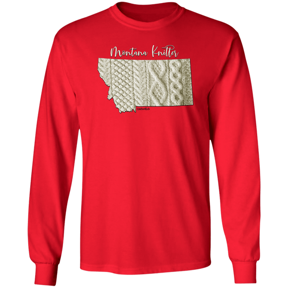 Montana Knitter LS Ultra Cotton T-Shirt