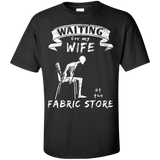 Waiting at the Fabric Store Men's and Unisex T-Shirts - Crafter4Life - 2