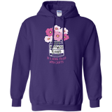 Happiness Blooms with Crafts Pullover Hoodie 8 oz - Crafter4Life - 8