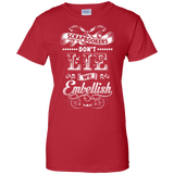 Scrapbookers Don't Lie Ladies Custom 100% Cotton T-Shirt - Crafter4Life - 11