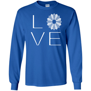 LOVE Quilting LS Ultra Cotton T-shirt - Crafter4Life - 1