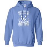 Most of My Life (Quilting) Pullover Hoodies - Crafter4Life - 5