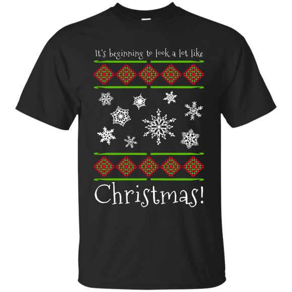 Crochet Christmas Ultra Cotton T-Shirt