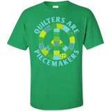 Quilters are Piecemakers Custom Ultra Cotton T-Shirt - Crafter4Life - 6