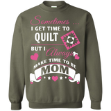 Time-Quilt-Mom Crewneck Sweatshirts - Crafter4Life - 5