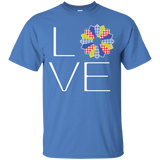 LOVE Quilting (Primary Colors) Custom Ultra Cotton T-Shirt - Crafter4Life - 4