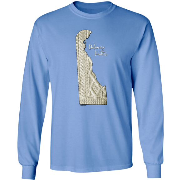 Delaware Knitter LS Ultra Cotton T-Shirt