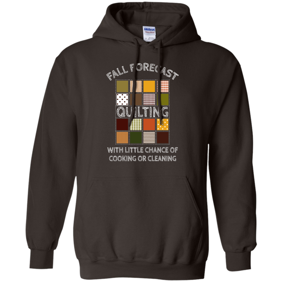 Fall Forecast - Quilting Pullover Hoodie