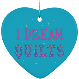 I Dream Quilts Ornaments