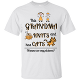 This Grandma Knits Custom Ultra Cotton T-Shirt