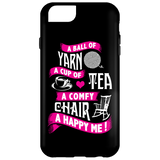 A Ball of Yarn iPhone Cases