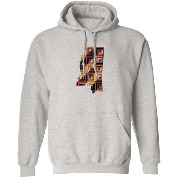 Mississippi Quilter Pullover Hoodie