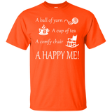 A Happy Me Custom Ultra Cotton T-Shirt - Crafter4Life - 4
