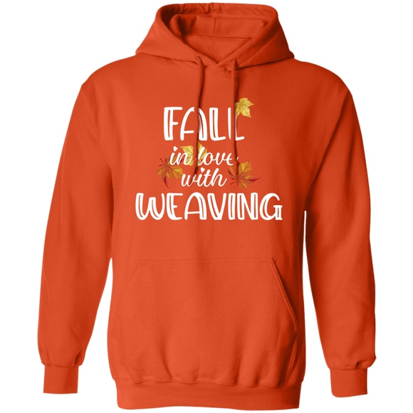 Fall in Love with Weaving Pullover Hoodie