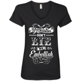Scrapbookers Don't Lie Ladies V-neck Tee - Crafter4Life - 3