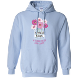 Happiness Blooms with Crafts Pullover Hoodie 8 oz - Crafter4Life - 4