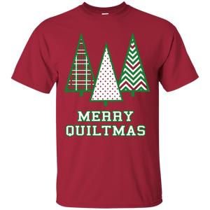 Merry Quiltmas Custom Ultra Cotton T-Shirt