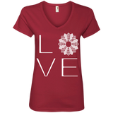 LOVE Quilting Ladies V-Neck Tee - Crafter4Life - 4