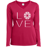 LOVE Quilting Ladies Long Sleeve V-neck Tee - Crafter4Life - 3