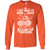 Coffee-Knit-Nap Long Sleeve Ultra Cotton T-Shirt - Crafter4Life - 4