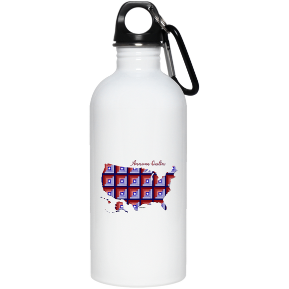 American Quilter 20 oz. Stainless Steel Water Bottle