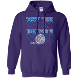 May the Yarn be with You Pullover Hoodie