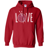 Knitting LOVE Pullover Hoodie