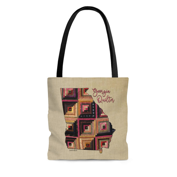 Georgia Quilter Cloth Tote Bag