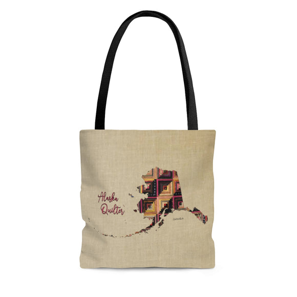 Alaska Quilter Cloth Tote Bag