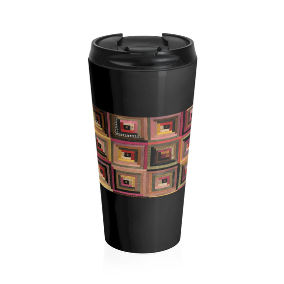 Kansas Quilter Stainless Steel Travel Mug