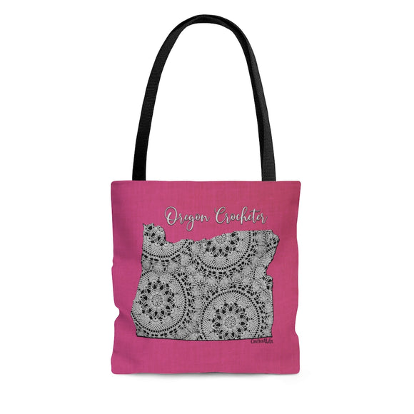 Oregon Crocheter Cloth Tote Bag