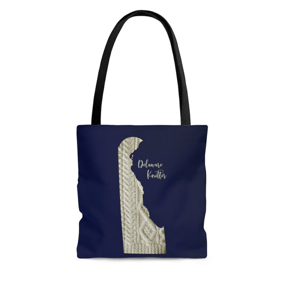 Delaware Knitter Cloth Tote Bag