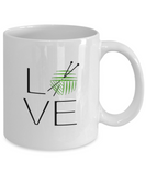 LOVE Knitting Mug 11oz ceramic