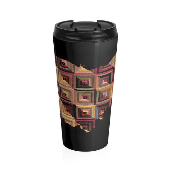 Ohio Quilter Stainless Steel Travel Mug