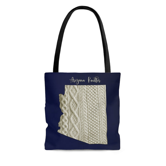 Arizona Knitter Cloth Tote Bag
