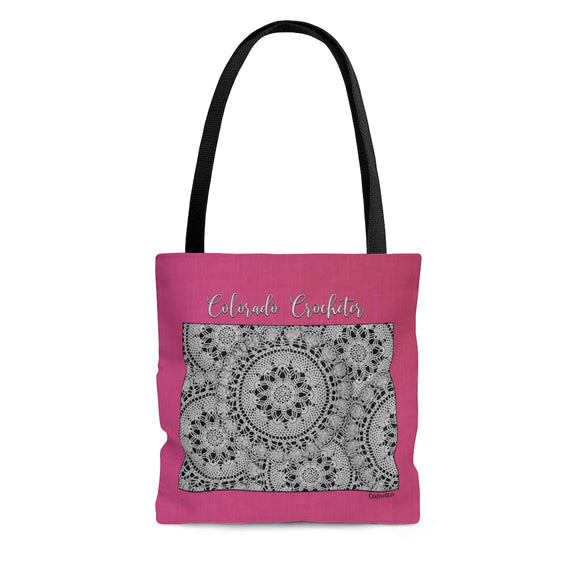 Colorado Crocheter Cloth Tote Bag