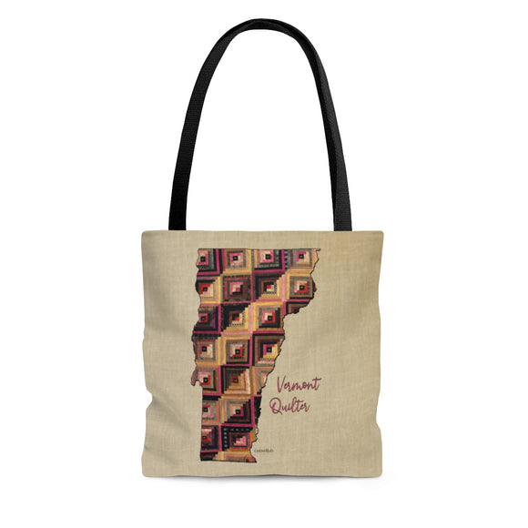 Vermont Quilter Cloth Tote Bag