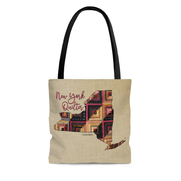 New York Quilter Cloth Tote Bag