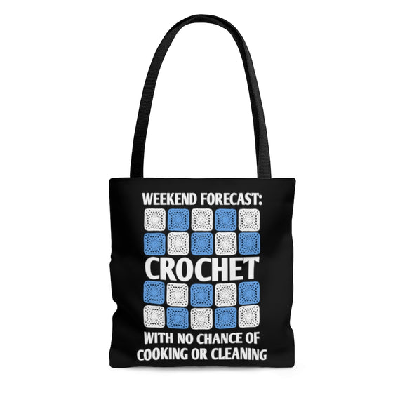 Weekend Forecast Crochet - Tote Bag