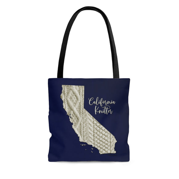 California Knitter Cloth Tote Bag