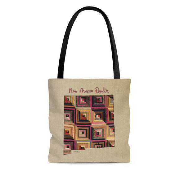 New Mexico Quilter Cloth Tote Bag