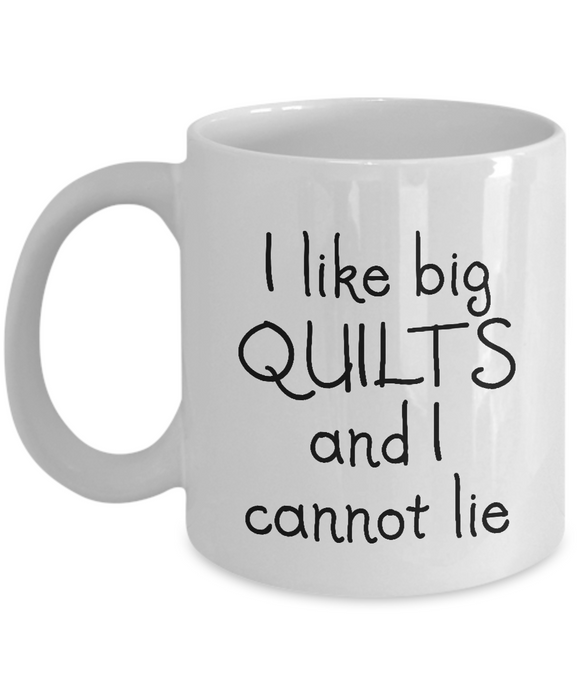 I Like Big Quilts Mug (11oz)